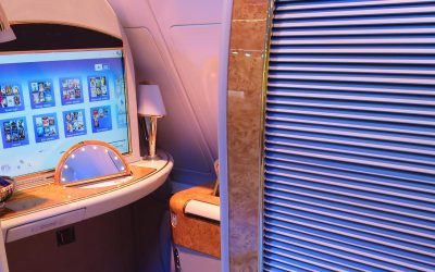 The Luxuries of First Class Travel